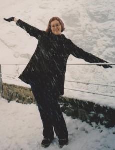2002: In Switzerland while touring through Europe
