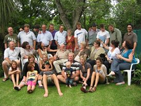 January 2011: Our family get together just before we moved from Pretoria, Gauteng to Kathu, Northern Cape